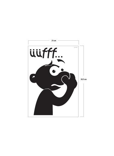 Disney Mis Klozet Sticker 19X23 Cm Renkli